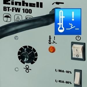 Einhell Fülldraht Schweißgerät BT-FW 100