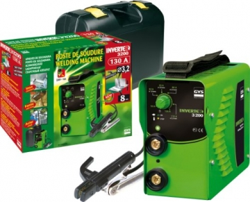 GYS Elektroden-Schweißgerät 130 A grün Inverter 3200