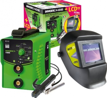 GYS Elektroden-Schweißgerät 160 A Inverter 4000
