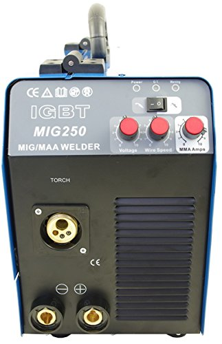 ntf mig 250 schutzgas inverter schwei ger t test neu