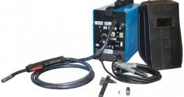 Wie ist ein elektrisches Schweißgerät aufgebaut?